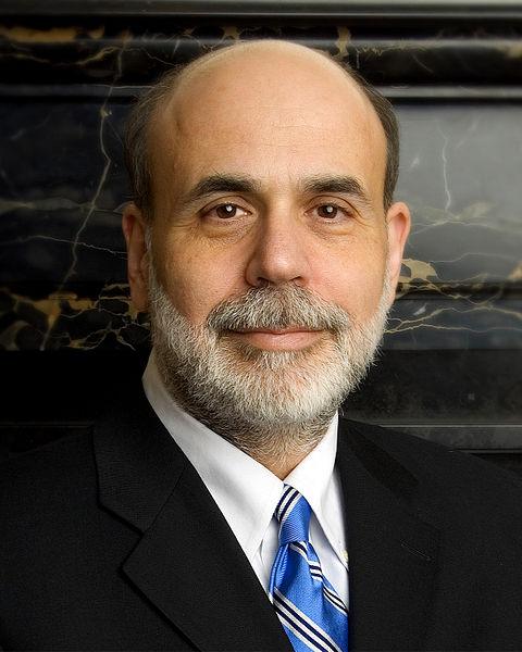 Ben Bernanke in Dewey Square