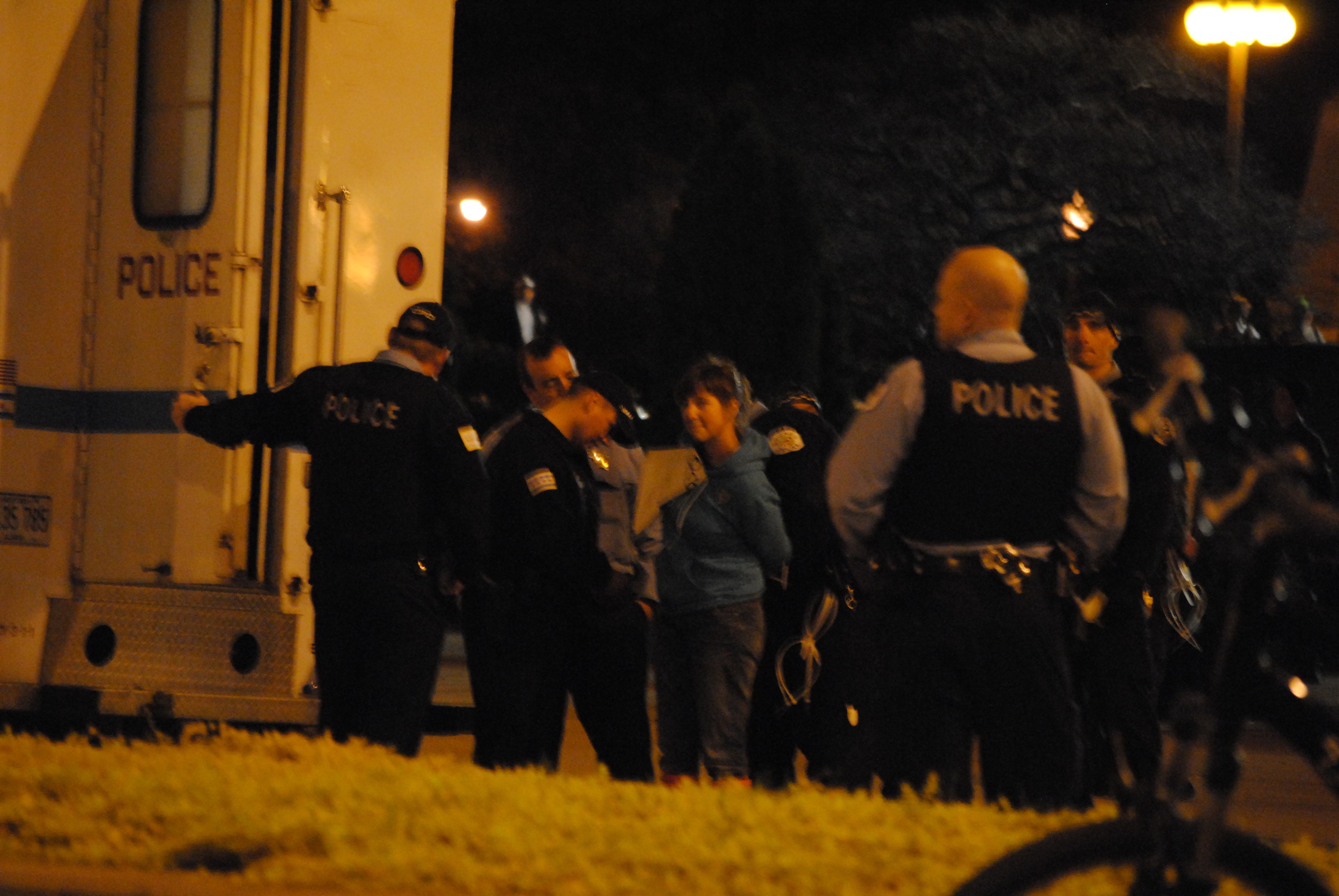 175 Arrests at Occupy Chicago