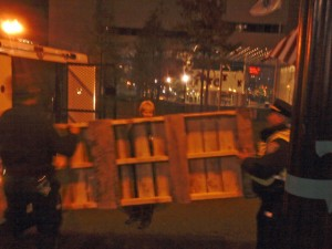 BPD Steals Wooden Pallet From Dewey