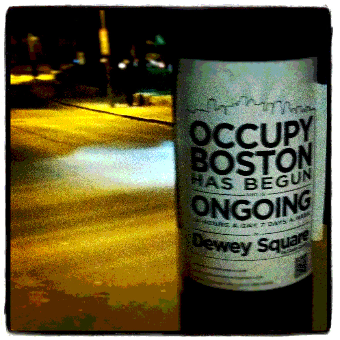 Artists Occupy Sunday (11/6) with Undivided: Dewey Square Pop-up Art ...