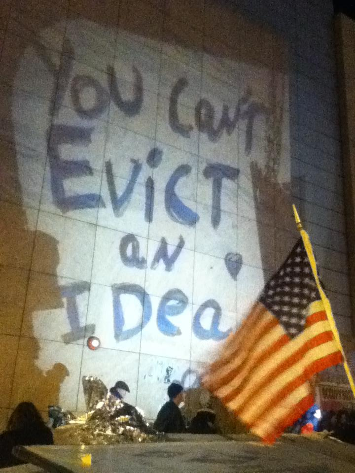 You can't evict an idea.