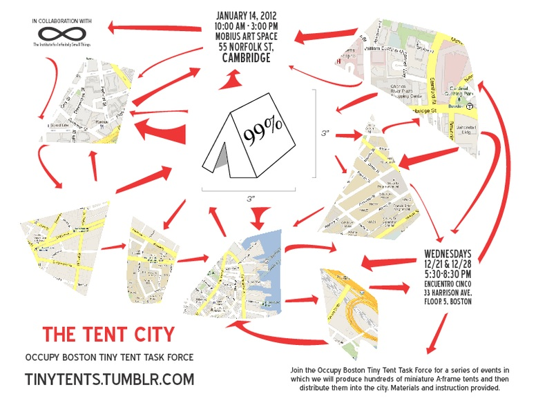Check out Occupy Boston Art Blog for Info on Tiny Tent Making Creative Actions and Upcoming Events  sc 1 st  Occupy Boston & Tiny Tents | Occupy Boston