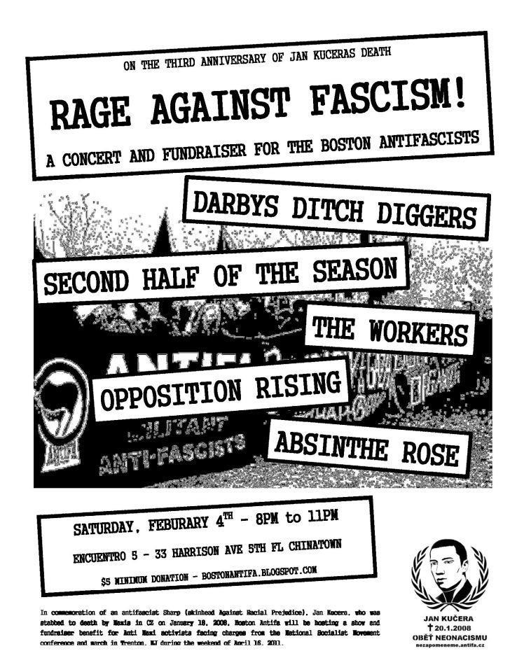 rage against fascism1 Rage Against FAscism