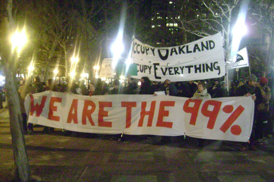 OO2 Occupy Boston marches in Solidarity with Occupy Oakland