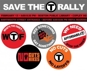 rally poster 213 300x246 This Monday: Ride the Rails & Rally At Copley to Save the T!