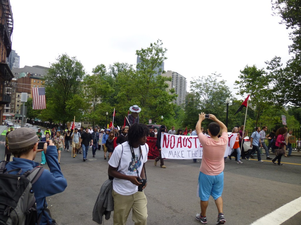 Pic 11 1024x768 Occupy Boston marches against austerity June 16th (pics)