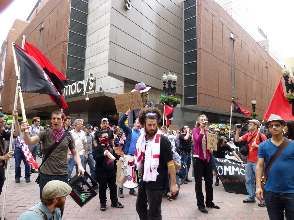Pic 3 1024x768 Occupy Boston marches against austerity June 16th (pics)