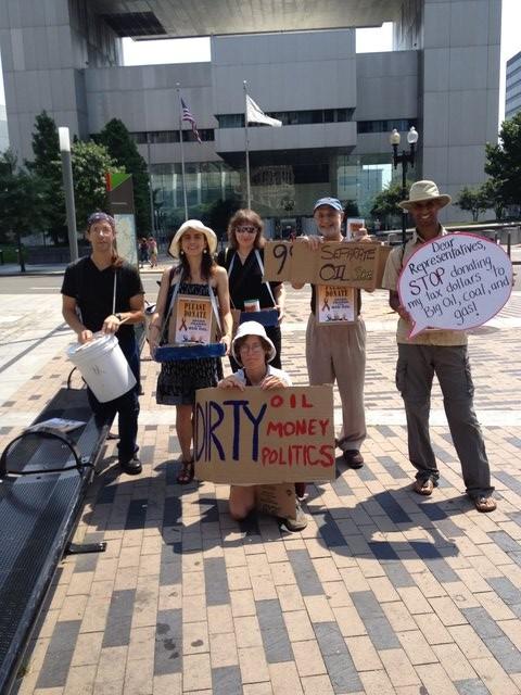 Occupy Boston and 350ma Activists