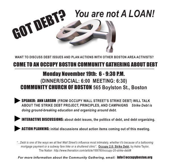 Got Debt?  You are not a loan!