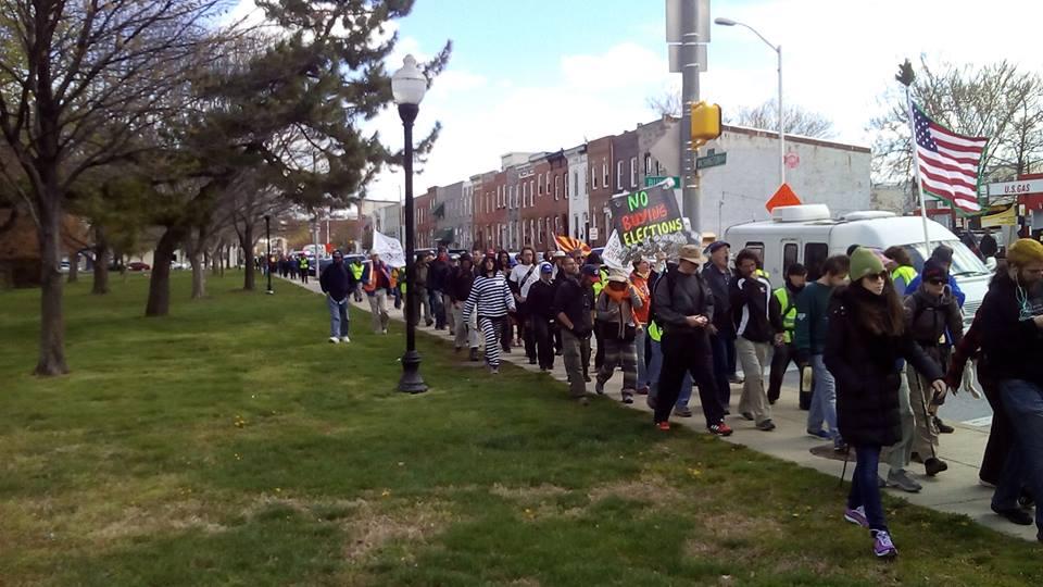 Democracy Spring March