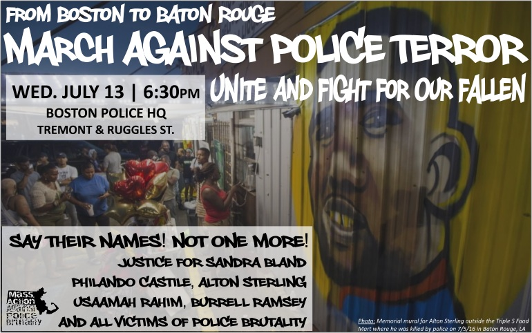 March Against Police Terror: Unite and Fight for our Fallen